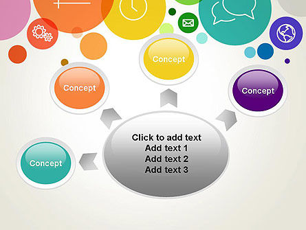 Descriptive Circles PowerPoint Template Slide 7
