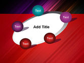 Spectrum In Motion Abstract PowerPoint Template#14