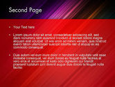 Spectrum In Motion Abstract PowerPoint Template#2