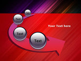 Spectrum In Motion Abstract PowerPoint Template#6