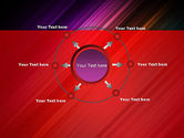Spectrum In Motion Abstract PowerPoint Template#7