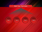 Spectrum In Motion Abstract PowerPoint Template#8