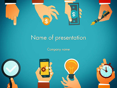Business: Business And Management Concept PowerPoint Template #13899