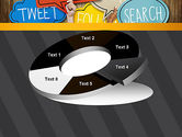 Social Media PowerPoint Template#19