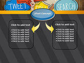Social Media PowerPoint Template#4