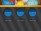 Social Media PowerPoint Template#5