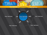 Social Media PowerPoint Template#7