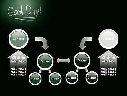 Good Day Writing On Blackboard PowerPoint Template Slide 19