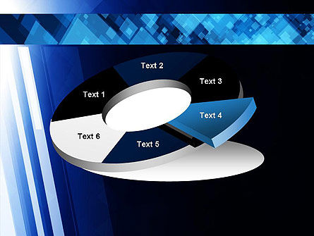 Virtual Technology Space Abstract PowerPoint Template Slide 19
