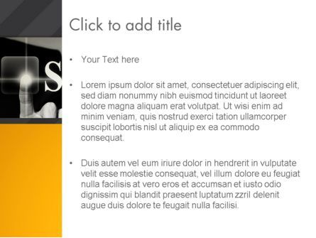 Press The Solution Key PowerPoint Template, Slide 3, 13907, Business Concepts — PoweredTemplate.com