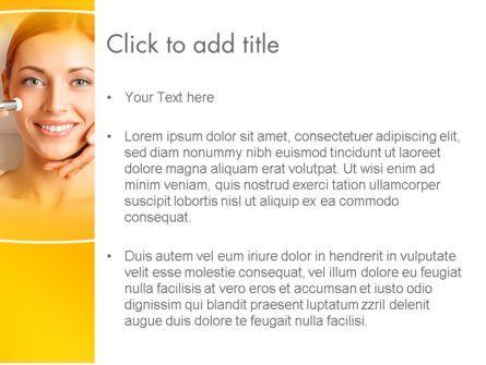 Medical Skin Care PowerPoint Template, Slide 3, 13910, Medical — PoweredTemplate.com
