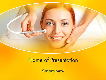 Medical Skin Care PowerPoint Template