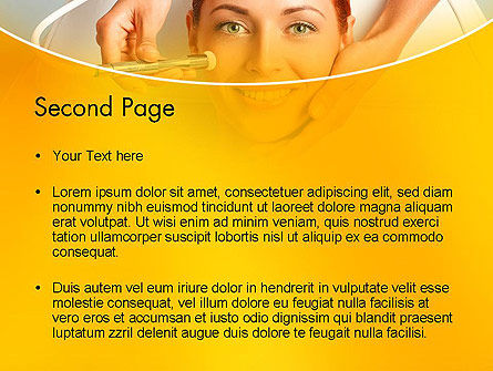 Medical Skin Care PowerPoint Template, Slide 2, 13910, Medical — PoweredTemplate.com