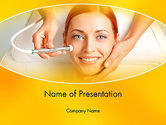 Medical: Medical Skin Care PowerPoint Template #13910