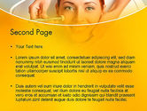 Medical Skin Care PowerPoint Template#2
