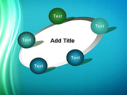 Flowing Waves PowerPoint Template Slide 14