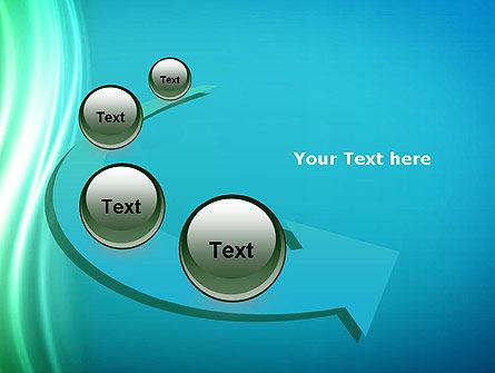 Flowing Waves PowerPoint Template Slide 6