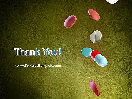 Falling Drugs PowerPoint Template Slide 20
