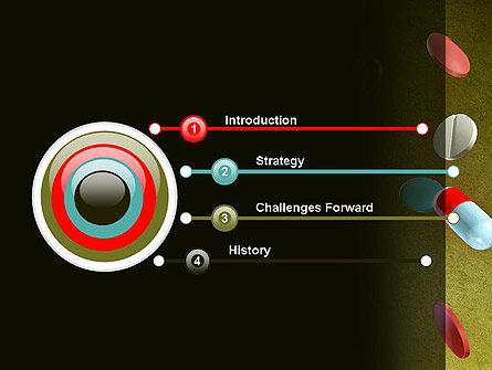 Falling Drugs PowerPoint Template Slide 3