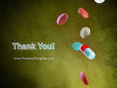 Falling Drugs PowerPoint Template#20