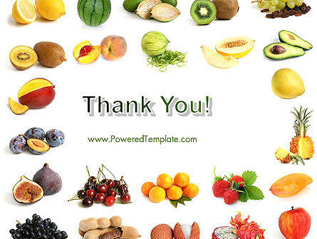 Fruit Mix PowerPoint Template Slide 20