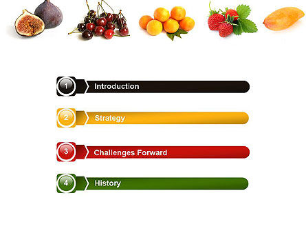Fruit Mix PowerPoint Template Slide 3