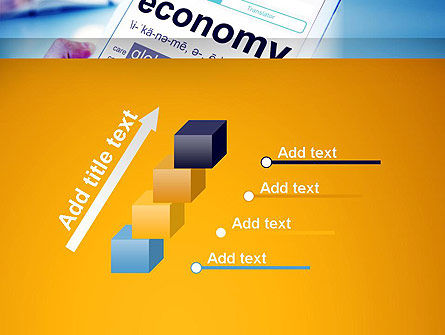 Economy Definition on Touch Pad PowerPoint Template Slide 14