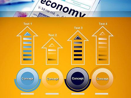 Economy Definition on Touch Pad PowerPoint Template Slide 7