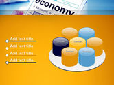 Economy Definition on Touch Pad PowerPoint Template#12