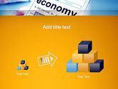 Economy Definition on Touch Pad PowerPoint Template#13