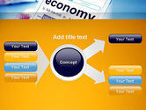 Economy Definition on Touch Pad PowerPoint Template#15