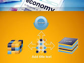 Economy Definition on Touch Pad PowerPoint Template#19