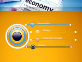 Economy Definition on Touch Pad PowerPoint Template#3