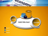 Economy Definition on Touch Pad PowerPoint Template#6