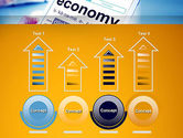Economy Definition on Touch Pad PowerPoint Template#7