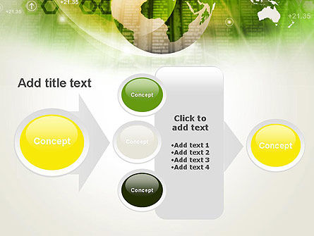 Abstract World Business PowerPoint Template Slide 17
