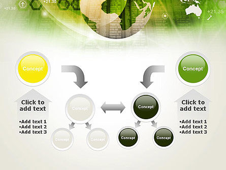 Abstract World Business PowerPoint Template Slide 19