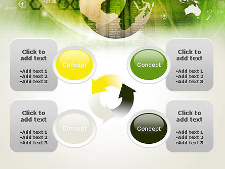 Abstract World Business PowerPoint Template Slide 9