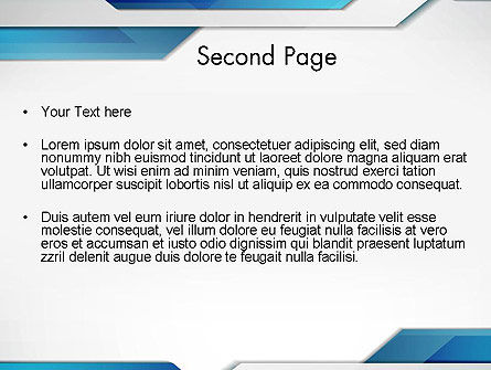 Dynamic Abstract PowerPoint Template Slide 2