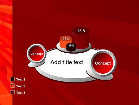 Red Tendency Abstract PowerPoint Template Slide 16