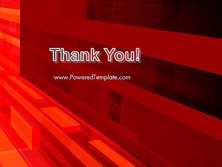 Red Tendency Abstract PowerPoint Template Slide 20
