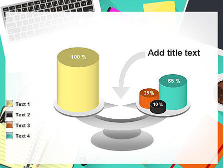 Office Desktop Workspace PowerPoint Template Slide 10
