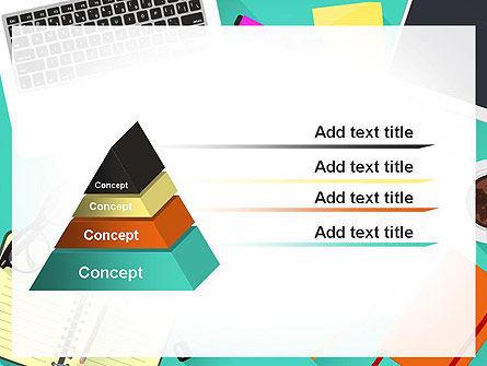 Office Desktop Workspace PowerPoint Template Slide 12