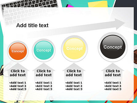 Office Desktop Workspace PowerPoint Template Slide 13
