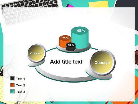 Office Desktop Workspace PowerPoint Template Slide 16