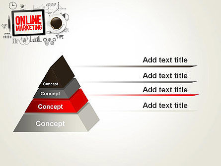 Online Marketing Strategy Concept PowerPoint Template Slide 12