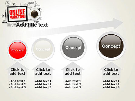 Online Marketing Strategy Concept PowerPoint Template Slide 13