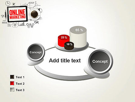 Online Marketing Strategy Concept PowerPoint Template Slide 16