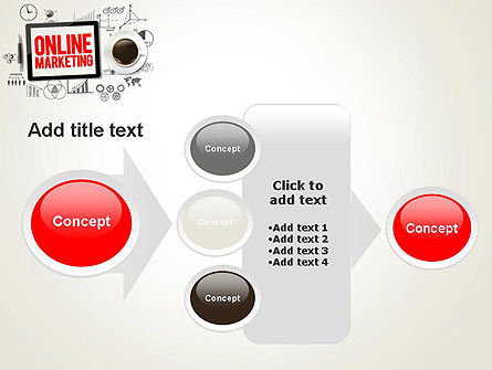 Online Marketing Strategy Concept PowerPoint Template Slide 17