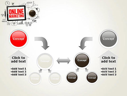 Online Marketing Strategy Concept PowerPoint Template Slide 19